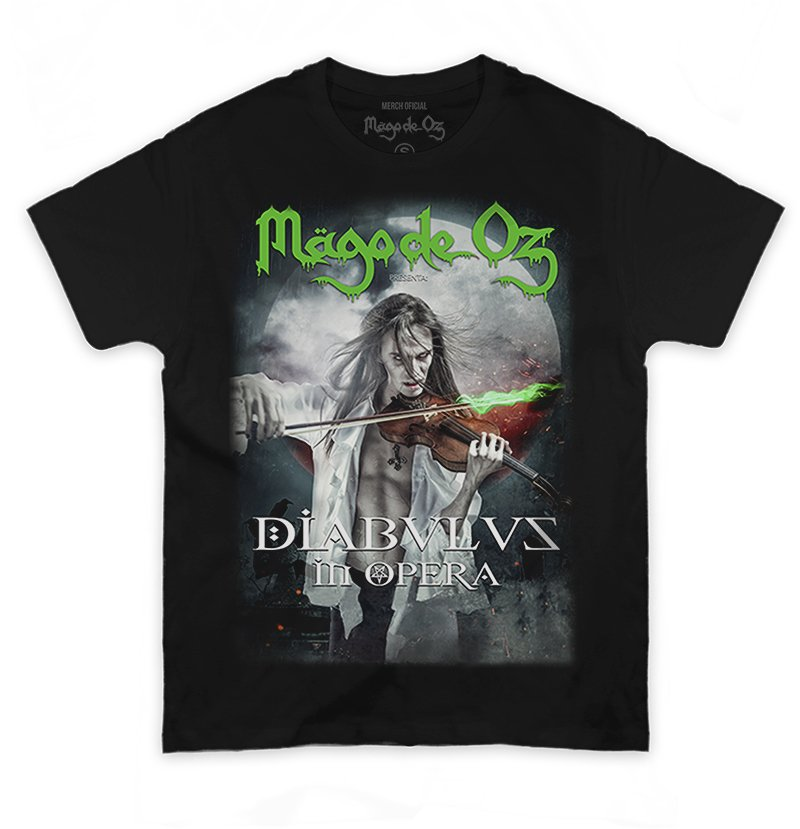 Mago de Oz – Playera Diabulus in Opera
